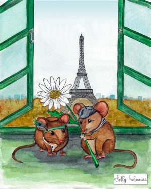 French Mice in Love